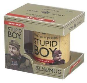 Dads Army Pike and Mainwaring Stupid Boy Mug