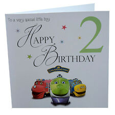 Chuggington Birthday Card 1st, 2nd, 3rd Special little Boy or Girl 148mm Square