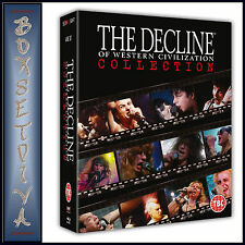 THE DECLINE OF WESTERN CIVILIZATION COLLECTION   **BRAND NEW BLU-RAY BOXSET **