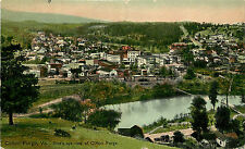 Vintage Postcard Clifton Forge VA Bird's Eye View Alleghany County