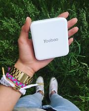 New Yoobao Power Bank 10400mAh Dual USB Port Universal External Battery Charger