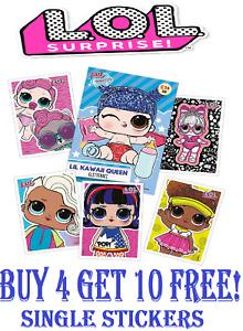 Panini LOL SURPRISE!  FASHION FUN!  Sticker Collection (2020)  BUY 4 GET 10 FREE