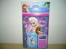 NEW Disney Frozen 7-Piece Calculator/Stationery Set - School Supplies!