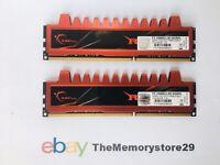 8 GB Kit G.Skill Ripjaws X DDR3 PC Desktop Memory RAM Modules PC3-10600 1333Mhz
