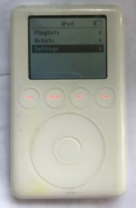 Apple iPod White (20gb) Classic 3rd Gen A1040 Fast Ship Good Used MANY ISSUES