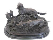 A French Bronze P.J Mene Hunting Scene Figurine