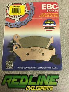 2004-2019 KTM 125-530 Ebc Front brake pad set FA181R