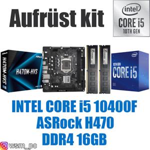 🅸🅽🆃🅴🅻 Core i5 10400F ● ASRock H470 Mainboard ● 16GB RAM ● Intel Bundle Kit