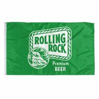 Rolling Rock Beer Banner Flag 3x5Feet Man Cave