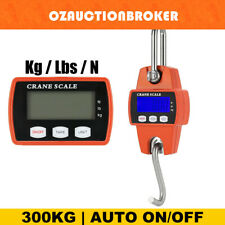 Mini Portable Crane Scale 300kg 0.1kg LCD Digital Electronic Hook Hanging