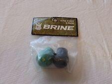 Brine 2 pack Lacrosse endos King logo Endo womens black green Nos New old stock
