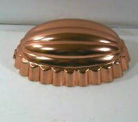 VINTAGE MID CENTURY COPPER 2 1/2 CUPS JELLY MOLD FARMHOUSE DECOR AND/OR USE