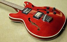 Guild Starfire II Bass - Westerly RI USA - 2001 - Cherry Mahogany