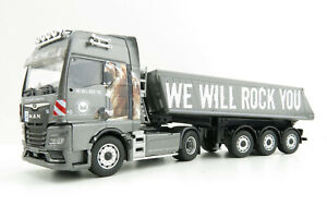 Conrad 80202/0 MAN TGX GX with Schmitz Cargobull Tipper trailer Bärnreuther 1:40