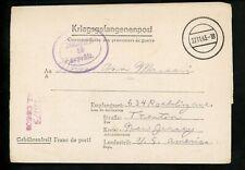 Postal History Germany POW Free Frank Censored Letter Sheet 1943 Stalag II-B NJ