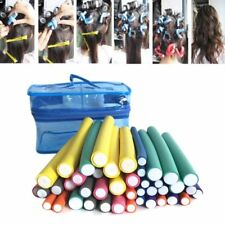 42Pcs Flexible Curling Rods Magic Curler Rod Hair Roller Foam Safe Styling Tools