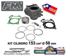 Gruppo Termico Kit Cilindro 58 mm e Pistone FM HONDA SH SCOOPY 150 2005 al 2012