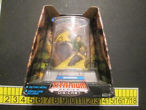 Titanium Series Marvel Spider-Man 3.75 Die Cast Sandman. Hasbro