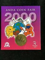 ANDA Coin Fair Sydney 2000 medallion SYDNEY ÖLLY