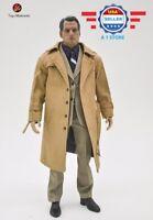 1/6 scale Clark Kent SUPERMAN Suit Overcoat Set for 12'' MALE MUSCULAR Figure