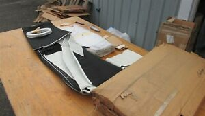 NEW 1970 1971 DODGE CHALLENGER PLYMOUTH BARRACUDA CUDA WHITE CONVERTIBLE TOP KIT