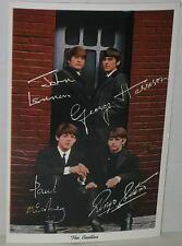 The Beatles 1964 Postcard Souvenir # 4DK-896 Mint & Unused