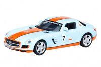 MERCEDES BENZ SLS AMG Gulf Racing #7 26038 Schuco edición