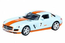 Mercedes Benz SLS AMG  GULF RACING # 7  26038 SCHUCO EDITION
