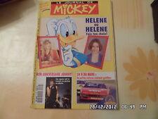 JOURNAL DE MICKEY N°2139 16 JUIN 1993 HELENE ANNIV JOHNNY 24H DU MANS       D40