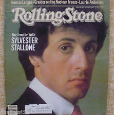 Rolling Stone Magazine 1982/ The Trouble with Sylvester Stallone/ Issue No. 373