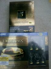 The Lord of the Rings: The Motion Picture Trilogy wSix collectible chess pcs