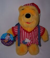 Winnie the Pooh in PJ's & Nightcap with Backpack for your Sleep-Over Gear