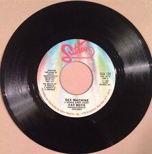 "Fat Boys - Sex Machine / Human Beat Box, Part III - EX Vinyl 7"" Single 45"