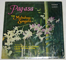 Philippines THE MABUHAY SINGERS Pag-Asa OPM LP Record