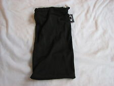 OAKLEY TURBINE *LARGE* MICRO FIBER SOFT CLOTH STORAGE CLEANING BAG BLACK NEW
