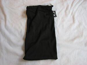 OAKLEY TURBINE *LARGE* MICRO FIBER SOFT CLOTH STORAGE CLEANING BAG BLACK NEW
