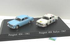 Peugeot 404-1961 & Peugeot 404 Rallye - 1967