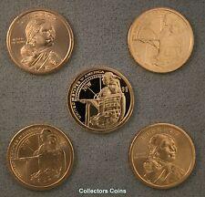 2009 Five Coin Sacagawea Native American PDS Pos A/&B Set Mint Rolls//Proof Sets