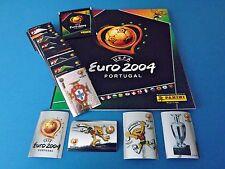 PANINI EM 04 Euro 2004 - Komplettset + Album + Tüte Top/Rar