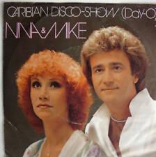 "7"" COVERVERSION 1980! NINA & MIKE : Caribian Disco-Show"