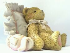 """Mandy """"I love you just the way you are"""" Cherished Teddies collectible bear 1991"""