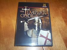 THE TEMPLAR CODE Part 1 & 2 Decoding the Past History Channel DVD NEW & SEALED