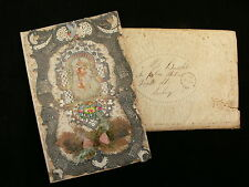 A Beautiful 1869 Valentine Card with Original Stamped Envelope - Sunbury