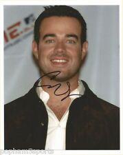 CARSON DALY Signed/Autographed/Auto 8x10 Photo MTV, TRL, LAST CALL w/COA