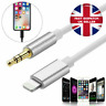 3.5 mm Lightning to Jack Male AUX Adaptor cable for iPhone 7 8 11 X XS XR iOS 13