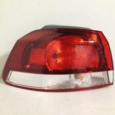 2010 2011 2012 2013 2014 Volkswagen Golf GTI LH Left Driver Tail Light OEM Shiny