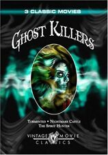 Ghost Killers - Tormented/Nightmare Castle/The Spirit Hunter DVD Brand New OD180