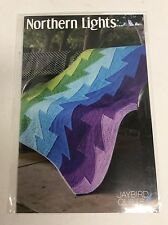 Northern Lights quilt pattern 5 Sizes Uses Hex N More Ruler Jaybird Quilts new