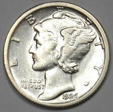 1926-S Mercury Dime 10C - AU Details - Rare Date San Francisco Coin!