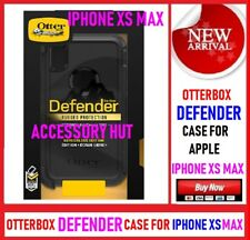 New OtterBox DEFENDER Case for Apple iphone XS MAX Black 77-59971